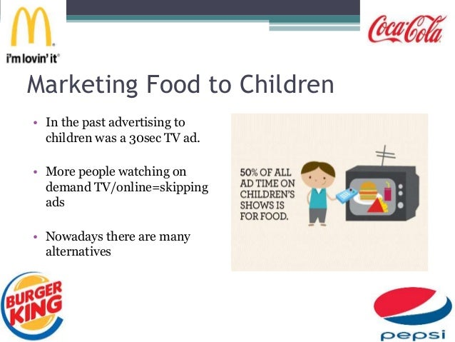 marketing towards children Target market: children as consumers // news / news and features illustration by it is foolish to ignore the impact of food marketing on children.