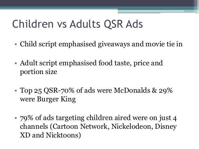 marketing towards children Reference guide authors 24 3 introduction advertising to children in canada is an area of marketing and communications that canadian.