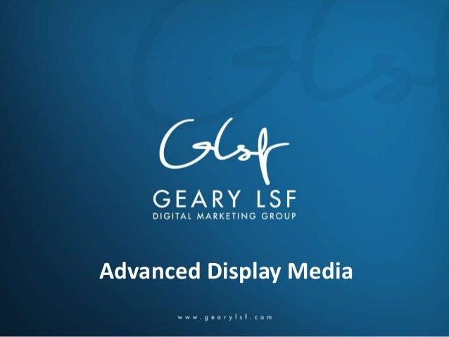 Advanced Display Media