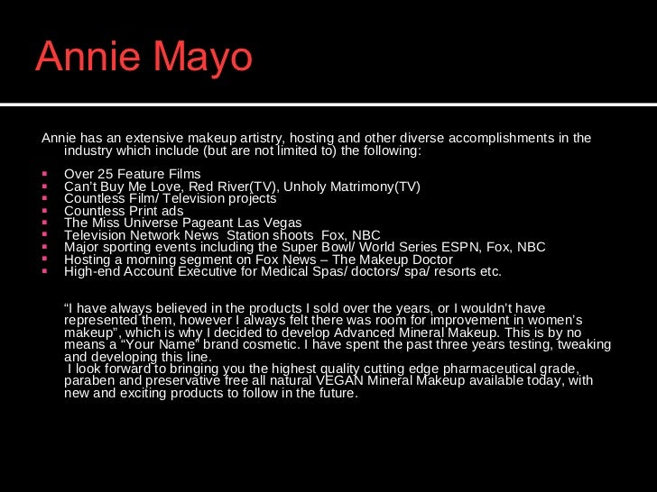 Annie Mayo