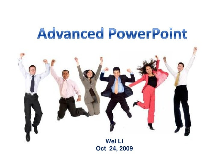 Advanced Power Point 2.Pptx
