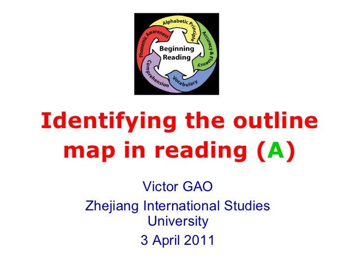 Advanced reading skills storymap