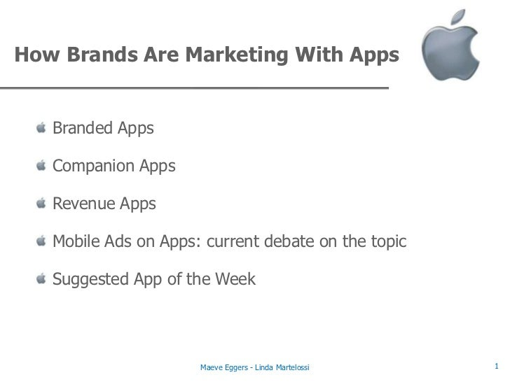 Advanced Social Media Marketing - Mobile Apps