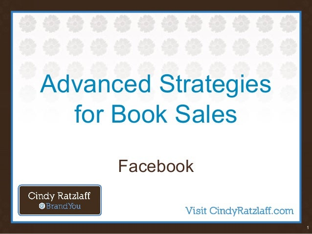 1 Advanced Strategies for Book Sales Facebook