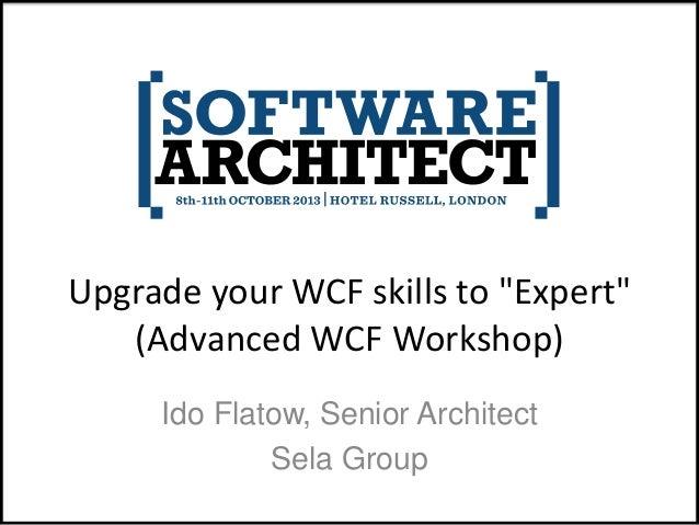 Advanced WCF Workshop