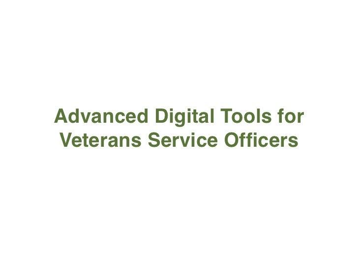 Advanced web tools