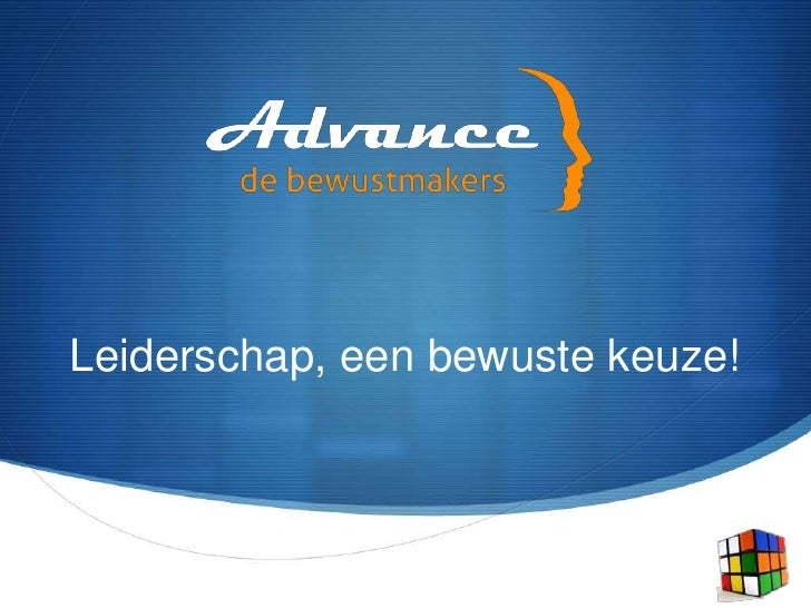 Advance leiderschap