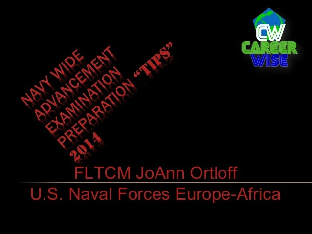 FLTCM JoAnn Ortloff U.S. Naval Forces Europe-Africa
