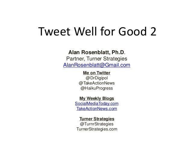 Twitter Training Deck 2 2013.10.14
