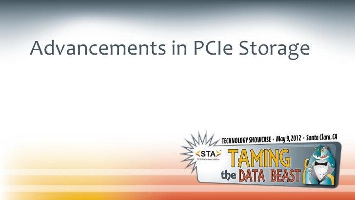 Advancements in PCIe Storage