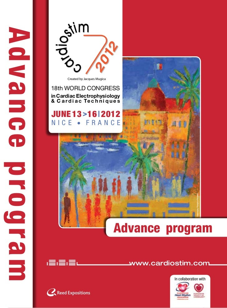 Cardiostim 2012 Advance Program