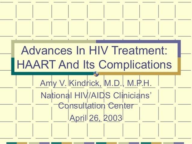 Advances in hiv treatment