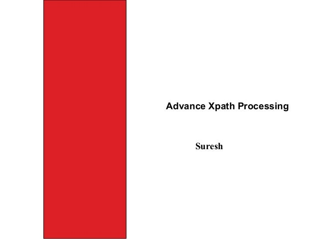 Advance xpath