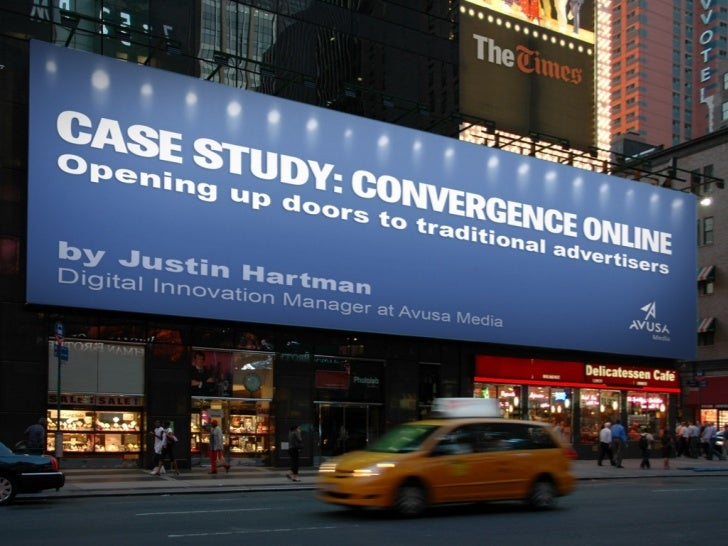 Case Study: Convergence Online - Opening up doors to Traditional Advertisers