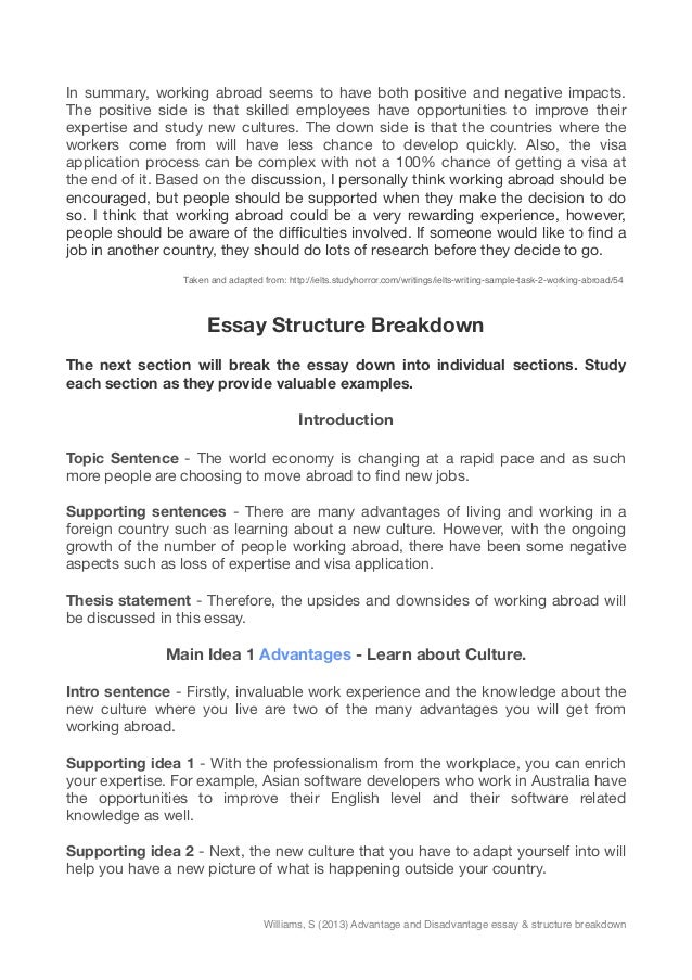 Experience Study Abroad Essay