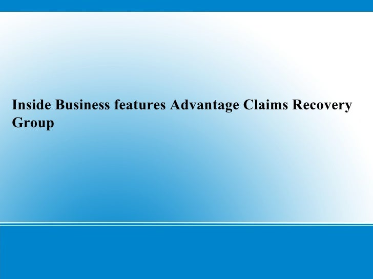 Advantage claims recovery group, inc.