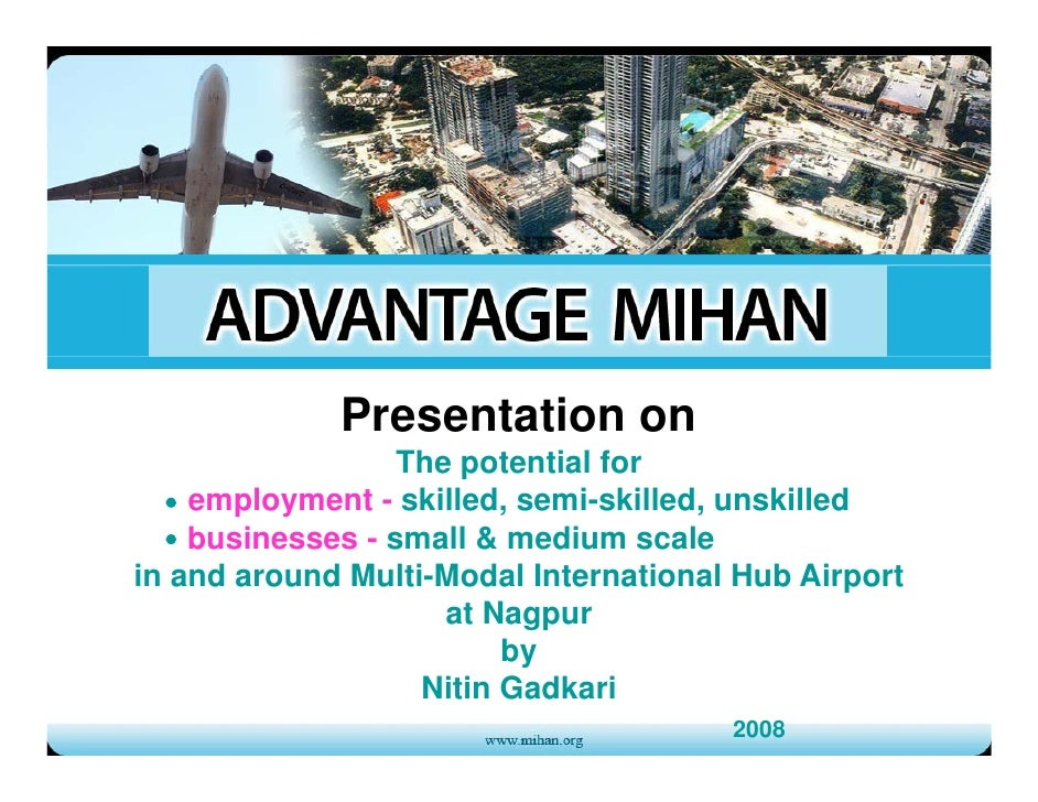 Presentation on                   The t ti l f                   Th potential for     employment - skilled, semi-skilled, ...