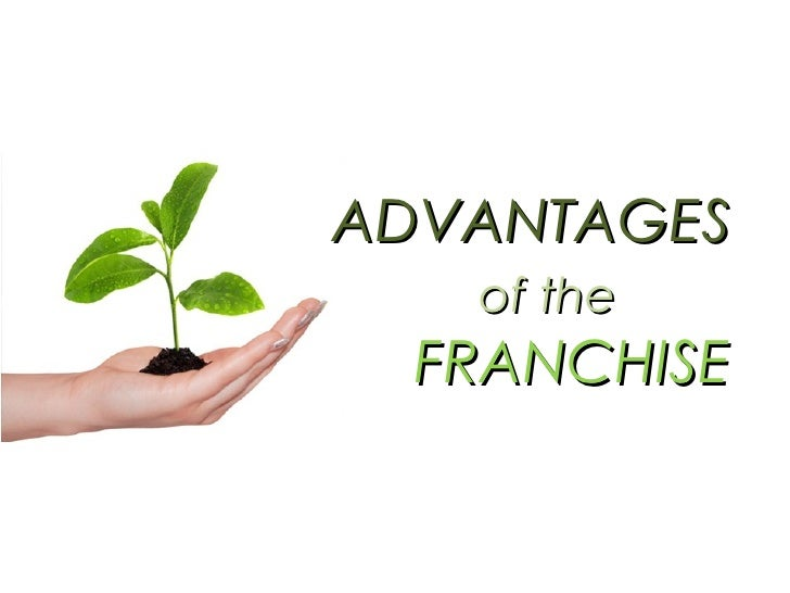 ADVANTAGES   of the   FRANCHISE
