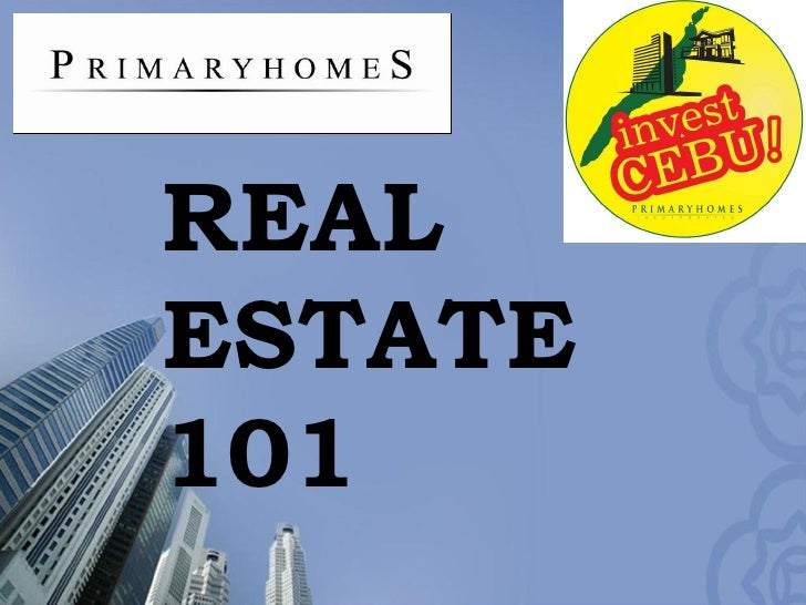 Advantages Of  Real  Estate  Investment 101