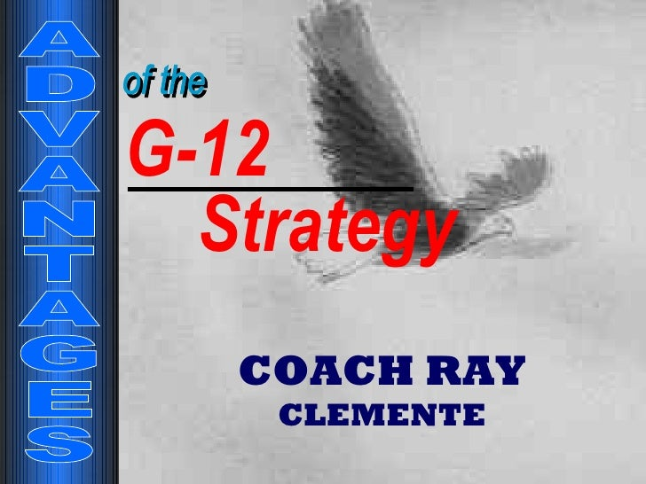 Advantages Of The G12 Ray Clemente