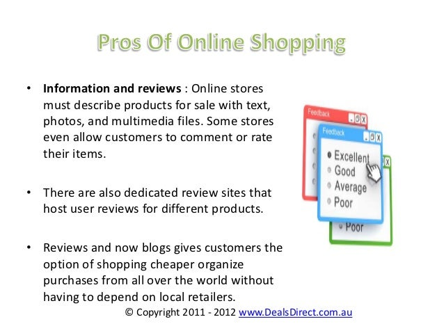 Shopping online and shopping in stores essay