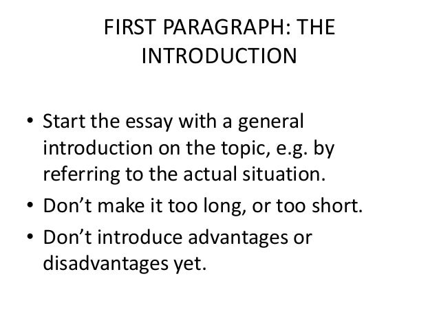 Arguments for and against advertising advantages essay