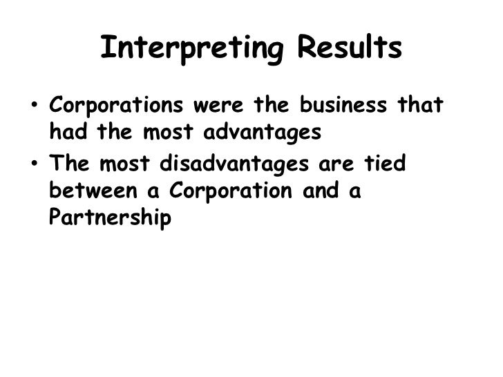 advantages and disadvantages of incorporation of companies As a new entrepreneur, you should carefully consider the advantages and disadvantages of incorporating your business incorporation establishes a company.