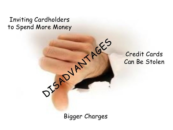 Advantages and disadvantages of credit cards essay