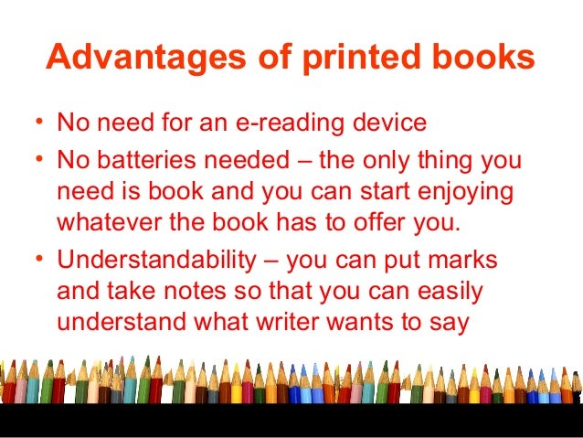 Essay on advantages of book reading