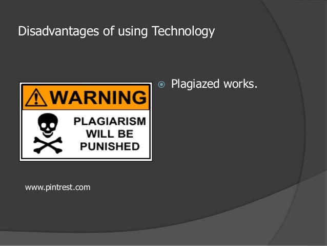 advantages and disadvantages of technology pdf