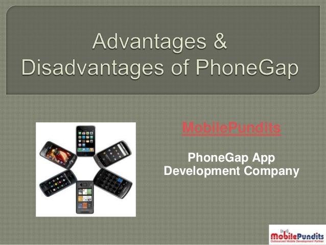 MobilePundits PhoneGap App Development Company