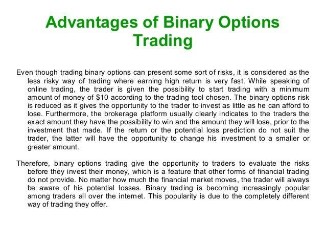 Binary options trading yahoo