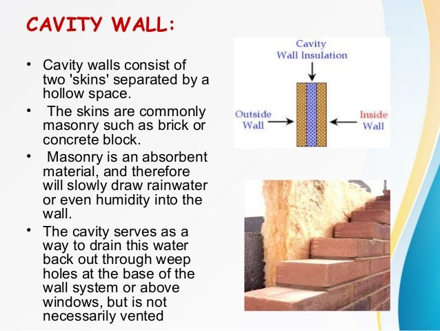 Advantages Of Cavity Walls