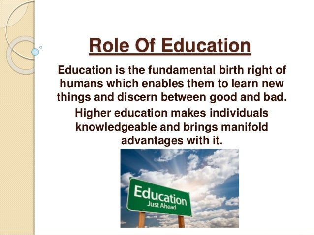 the benefits of higher education for individuals and society essay Education pays 2016: the benefits of higher education for individuals and society documents the ways in which both individuals and society as a whole benefit from.