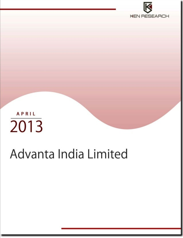 1ADVANTA INDIA LIMITED                        © This is a licensed product of Ken Research and should not be copied