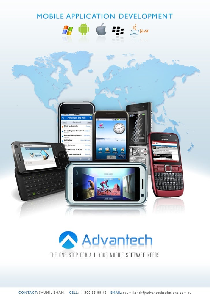 Advantech mobile application development services (2)