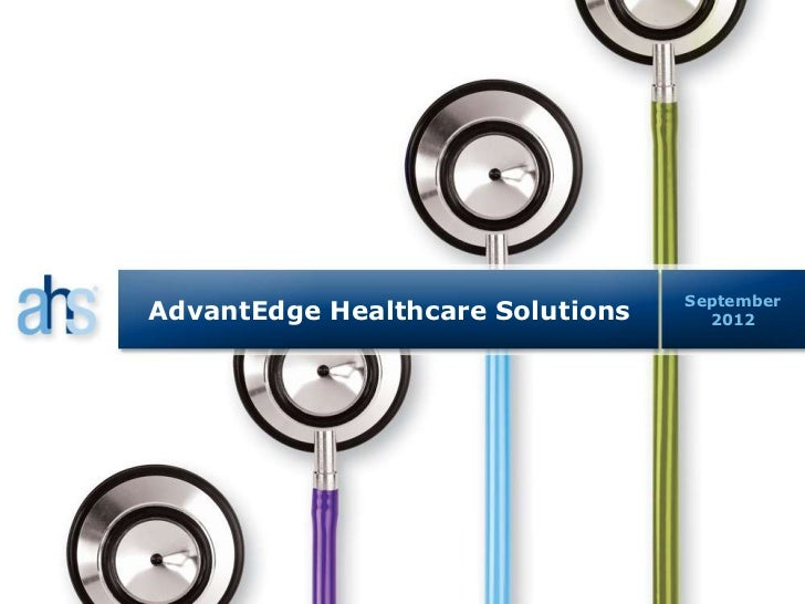 AdvantEdge Healthcare Solutions Presentation at William Blair & Company's 15th Annual Private Equity Conference