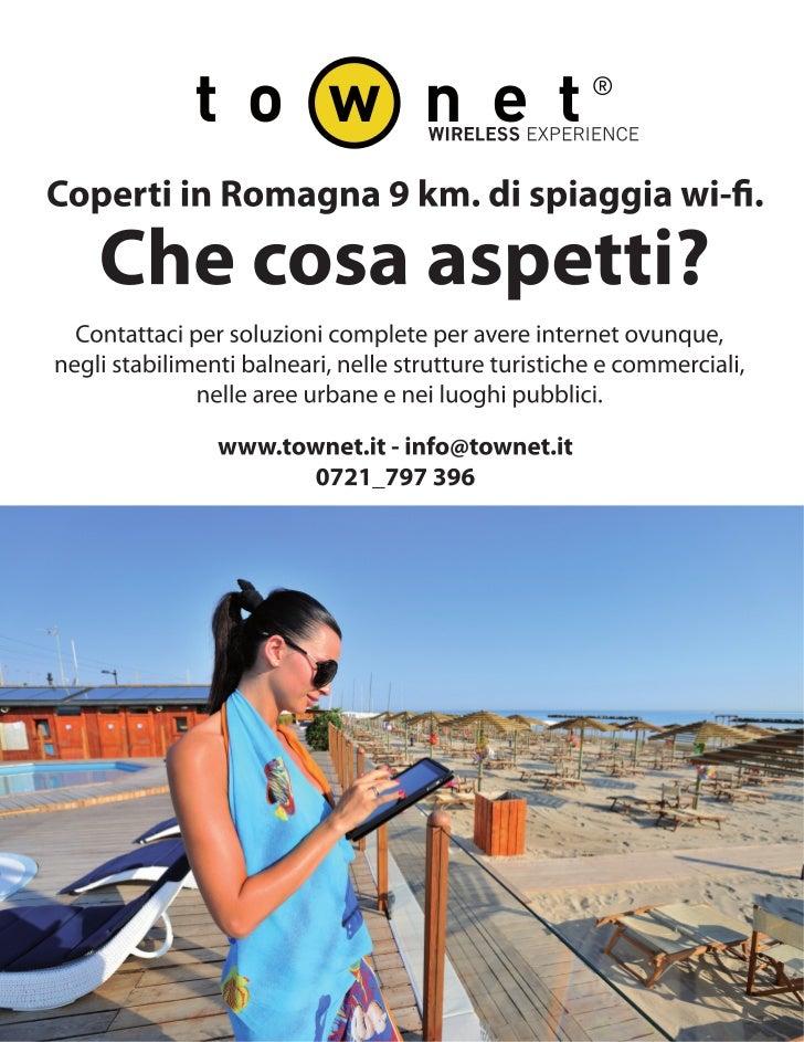 Townet wi-fi in spiaggia - Resto del Carlino 15.7