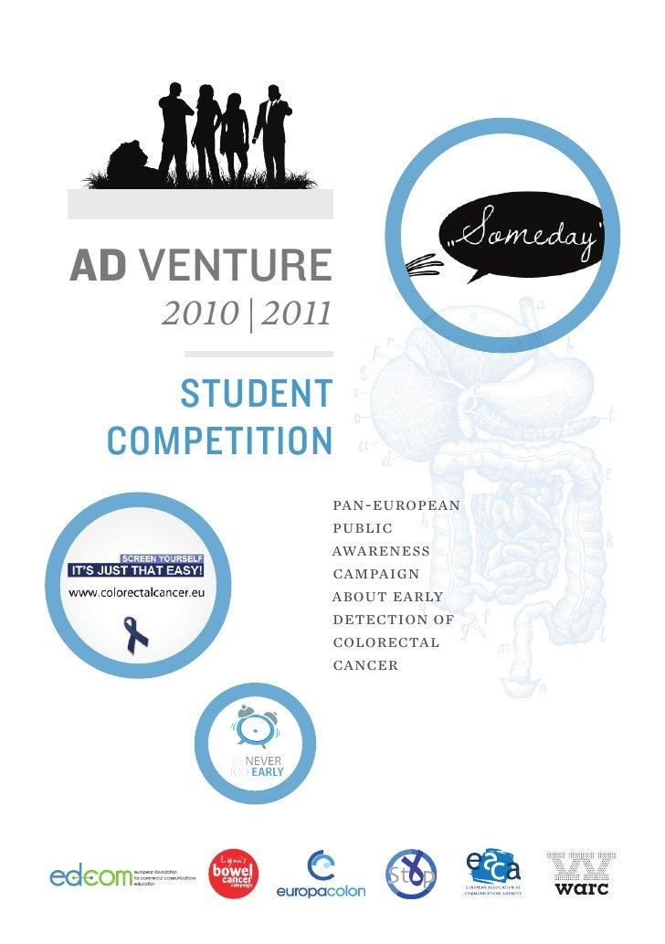 Ad Venture - Brochure Finalist Teams
