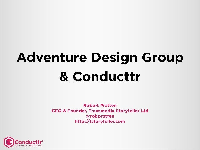 Adventure Games in Public Spaces and Conducttr