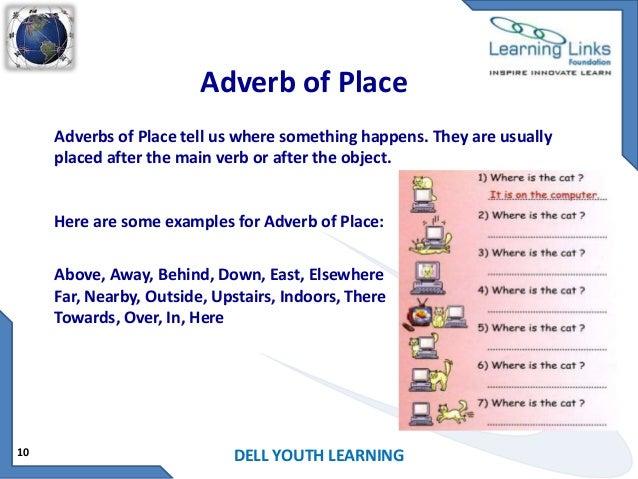 adverb of time list pdf
