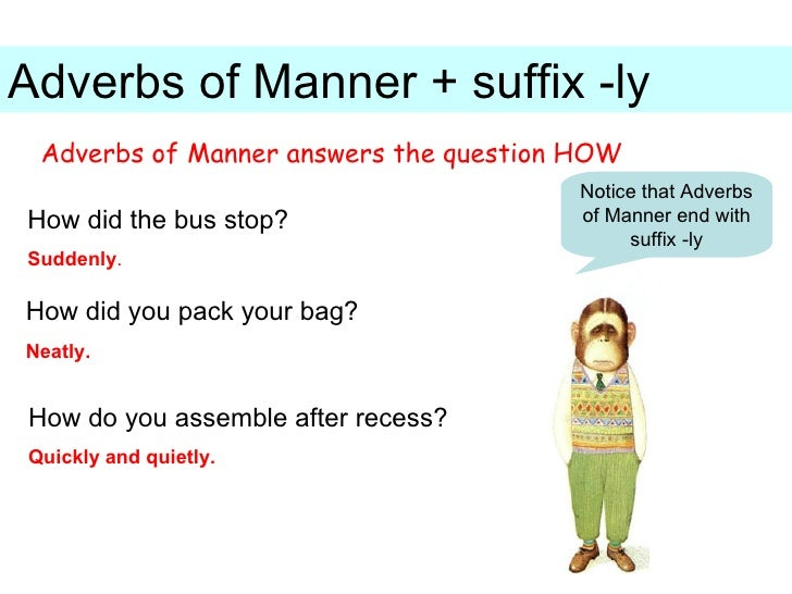 "Suffix ""ly"" 1st - 3rd Grade Worksheet 