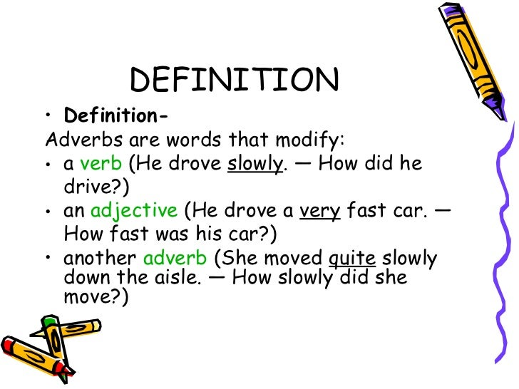 Adverbs And Adverbial Phrases Related Keywords & Suggestions - Adverbs ...