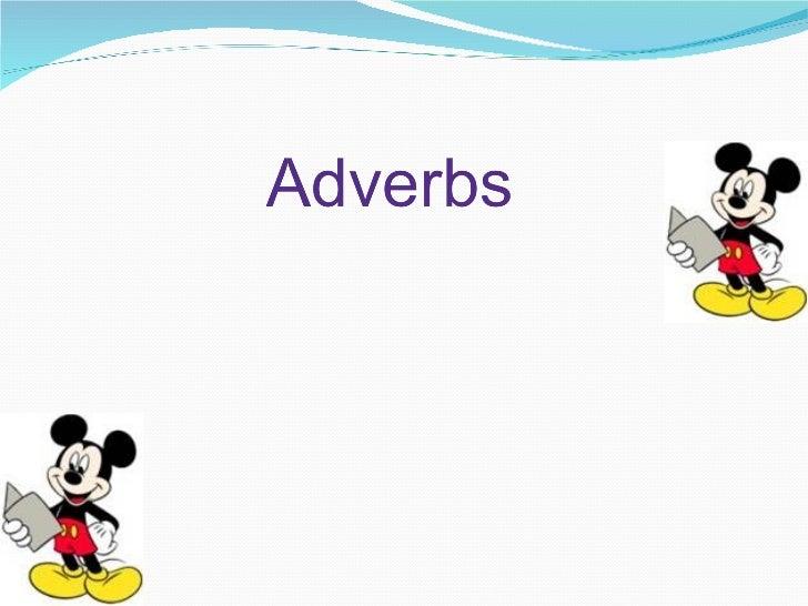Adverbs presentation