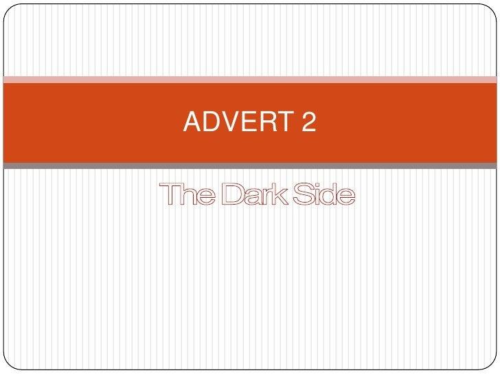 Advert 2 story board