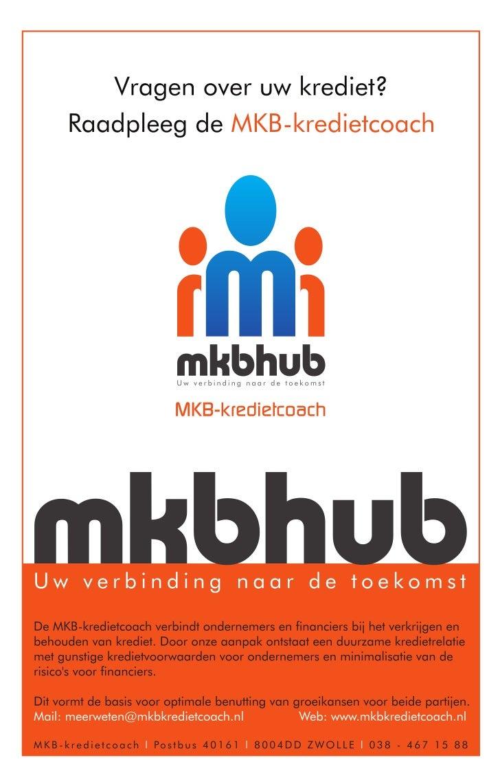 Advertentie MKB-kredietcoach