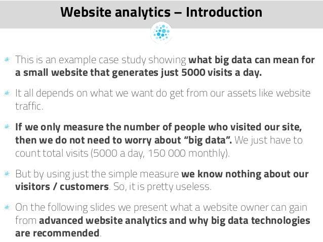Website for case studies