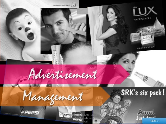 Advertisement Management Copyright © 2008 - 2012 managementstudyguide.com. All rights reserved.