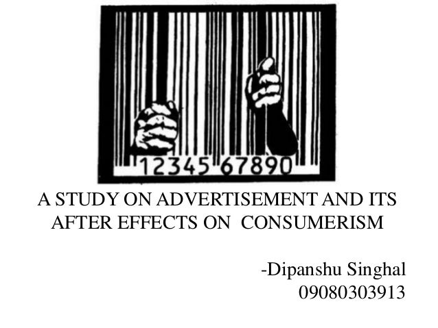 Essay On Consumerism And Advertising