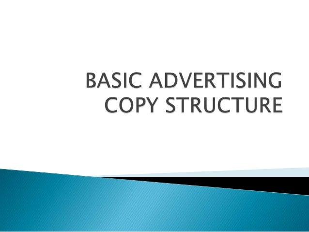    Headline   Subhead line   Body Copy   Tag line   Logo